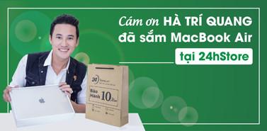 Hà Trí Quang mua sắm tại 24hStore
