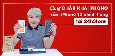 Châu Khải Phong mua sắm tại 24hStore