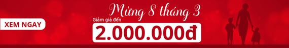 Giảm giá Tết đến 2 triệu đồng