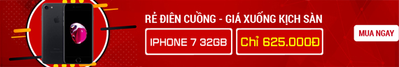 iPhone 7 32GB giá 625K
