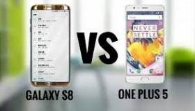 """Samsung Galaxy S8 đối đầu OnePlus 5: Ai mới là """"Ông Vua Của Android""""?"""