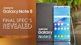 Samsung Note 8 sẽ giống với S8, vuông hơn và có vũ khí đặc biệt S-Pen.