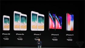 5 điểm khác biệt giữa iPhone 8 quốc tế và iPhone X
