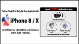 Tường thuật trực tiếp lễ ra mắt iPhone 8/X tại 24hStore - Share livestream nhận ngay quà khủng