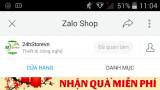 Nhấn nút Quan tâm 24hStore.vn trên Zalo nhận vô số quà hấp dẫn-điện thoại giảm sốc giảm giá chấn động