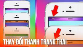 Hướng dẫn cách đổi màu thanh trạng thái trên iPhone mà không cần Jailbreak