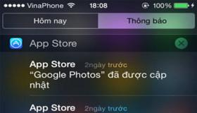 Mẹo nhỏ tắt thông báo ứng dụng cho iPhone, iPad