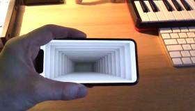 Ứng dụng tạo ảo giác quang học cực hấp dẫn trên iPhone X