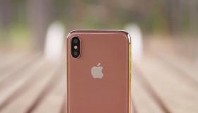 iPhone X sẽ có màu vàng đồng cực đẹp mới?