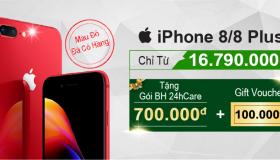 iPhone 8 Plus Product RED - Vẻ đẹp quyến rũ trong từng đường nét