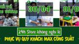 24hStore thông báo về việc nghĩ lễ Giỗ Tổ Hùng Vương và 30/4 và 1/5