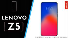 Lenovo Z5 sẽ chính thức ra mắt vào ngày 5/6