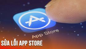 Khắc phục lỗi không vào được Appstore trên iOS 12