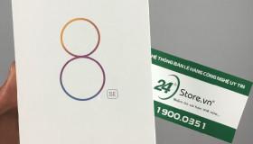 Xiaomi Mi 8 SE đã về 24hStore: màn hình tai thỏ, giá từ 7 triệu