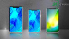 Lộ thiết kế mặt trước của bộ ba iPhone 2018, viền mỏng bất ngờ