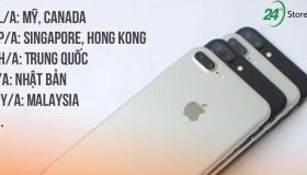 Đặt iPhone xách tay hàng Mỹ và Singapore lên bàn cân