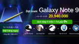 Đặt hàng Samsung Galaxy Note 9 chính hãng tại 24hstore giá rẻ sập sàn, rinh thêm quà tặng