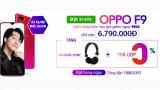 Đặt hàng OPPO F9 chính hãng tại 24hstore sạc cực nhanh, giá cực mềm, thưởng thêm quà tặng