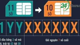 Viettel sẽ chuyển đổi toàn bộ đầu số thuê bao trong tháng 9