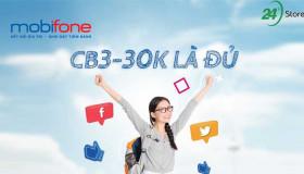 Đăng ký gói cước CB3 MobiFone dành cho học sinh sinh viên