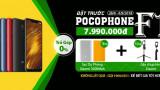 Đặt hàng Xiaomi Pocophone F1 chính hãng tại 24hstore