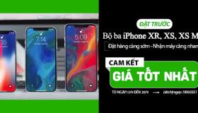 Đặt hàng iPhone XS/ iPhone XS Max/ iPhone XR