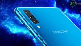 Galaxy A7(2018), smartphone Samsung đầu tiên sở hữu 3 camera sau chính thức ra mắt