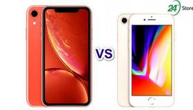 7 điểm khác biệt cần biết của iPhone Xr và iPhone 8