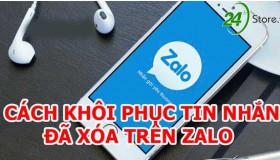 Hướng dẫn cách khôi phục tin nhắn trên Zalo nhanh chóng
