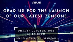 Asus sẽ trình làng siêu phẩm ZenFhone mới vào ngày 17/10 sắp tới