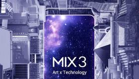 Mi Mix 3 tung poster màn hình không viền, quay video siêu chậm