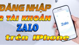 Hướng dẫn đăng nhập 2 tài khoản Zalo cùng lúc trên iPhone chỉ trong 5 phút