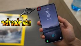"""Lộ diện smartphone """"nốt ruồi"""" đầu tiên trên thế giới của Samsung"""