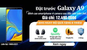 Đặt trước Samsung Galaxy A9 (2018) chính hãng giá tốt nhất tại 24hstore