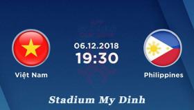 Bất ngờ: Việt Nam 0 - 1 Philippines AFF Suzuki cup 2018 VN vẫn vào chung kết