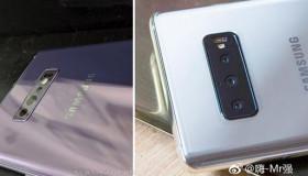 Lộ diện hình ảnh thực tế Galaxy S10 Plus 3 camera sau