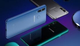 Galaxy A8s chính thức ra mắt: chip Snapdragon 710, màn hình nốt ruồi, 3 camera sau