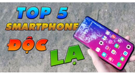 Điểm lại 5 smartphone có thiết kế độc đáo trong năm 2018