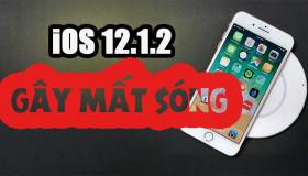 Mới phát hành, iOS 12.1.2 lại gây thất vọng khi xuất hiện lỗi
