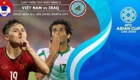 Việt Nam vs Iraq Asian Cup 2019: Quang Hải lọt top 15 cầu thủ xuất sắc nhất Châu Á