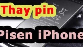 Cần thay pin Pisen iPhone nhanh chóng chính hãngở đâu uy tín nhất tại tphcm