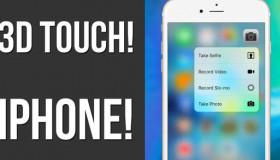 Hướng dẫn sử dụng 3D Touch trên iPhone một cách nhanh nhạy và hiệu quả 2019