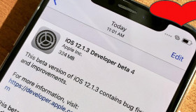 Tin vui: Phiên bản iOS 12.1.3 cập nhật mới, khắc phục nhiều lỗi trên iPhone, iPad