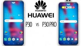 Huawei P30 và P30 Pro màn hình OLED lớn, camera cao cấp RAM 12GB siêu khủng