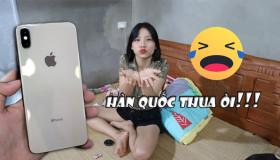 Thua độ trận Hàn Quốc: Chàng trai mua tặng bạn gái iPhone XS Max 256GB
