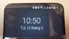 Galaxy S10 chưa ra mắt thế nhưng đã có người Việt mang đi sửa màn hình
