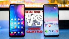 So sánh Redmi Note 7 và Samsung M20: 2 chú ngựa ô của làng công nghệ