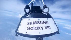 Samsung chơi lớn thả rơi 10 chiếc Galaxy S10 từ độ cao 24km