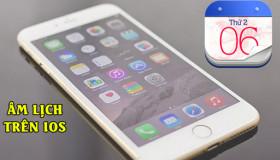Hướng dẫn thêm lịch âm vào ứng dụng mặc định trên iPhone
