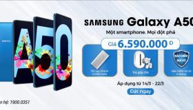 Đặt trước Samsung Galaxy A50 Chính hãng tại 24hstore